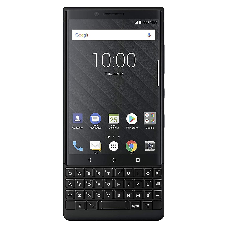 BlackBerry Key2 Dual SIM (BBF100-6) グローバル版 Black/ブラック 64GB, 6GB RAM, Android 8.1 (Oreo) SIMフリー 並行輸入品 B07FSZGFFG