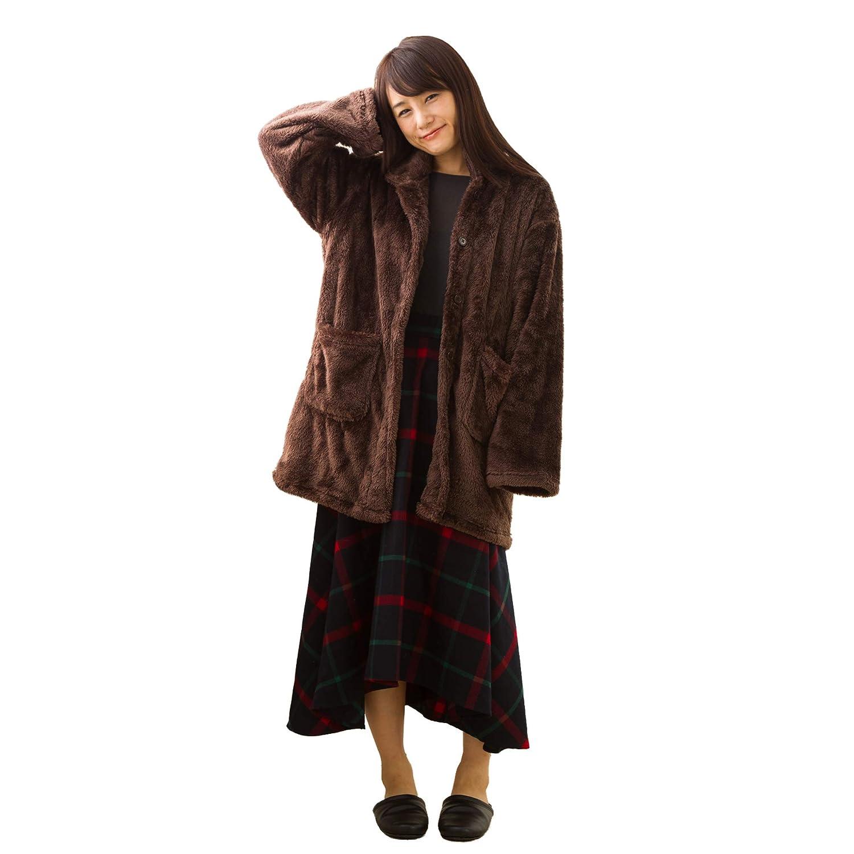 東京西川 あったかガウン 着る毛布