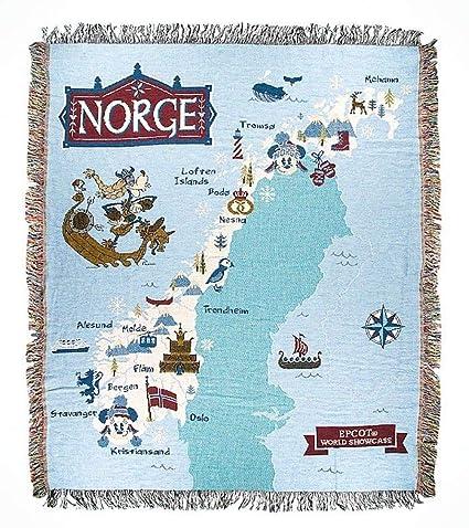 Amazon.com: Disney Parks Epcot World Showcase Norway Norge Mickey ...