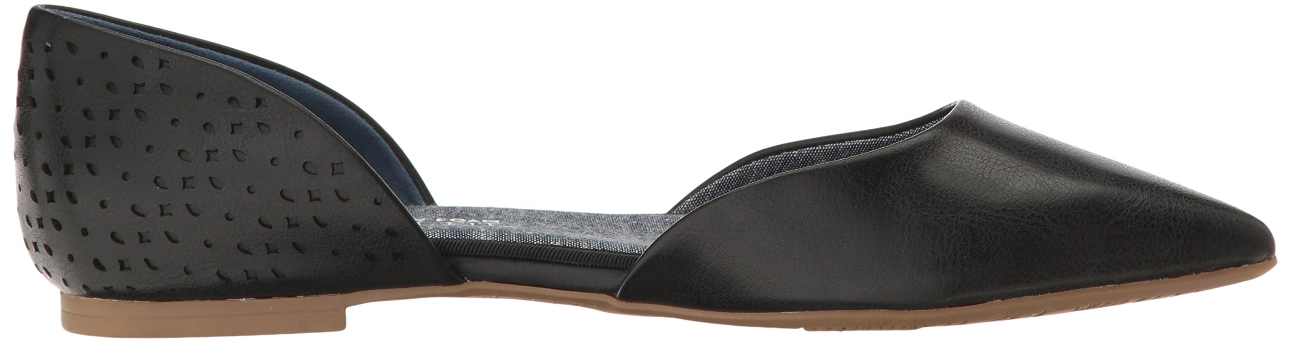 Dr. Scholl's Women's Svetlana Pointed Toe Flat, Black Perforated, 9.5 M US by Dr. Scholl's (Image #7)