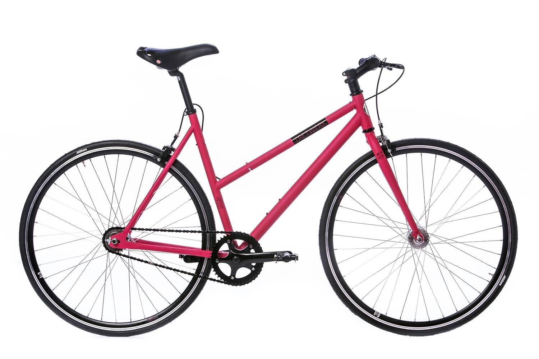 tretwerk DIREKT gute Räder Alma Girls 2 Gang Automatix 28 Zoll Singlespeed, Damen-Fahrrad, M
