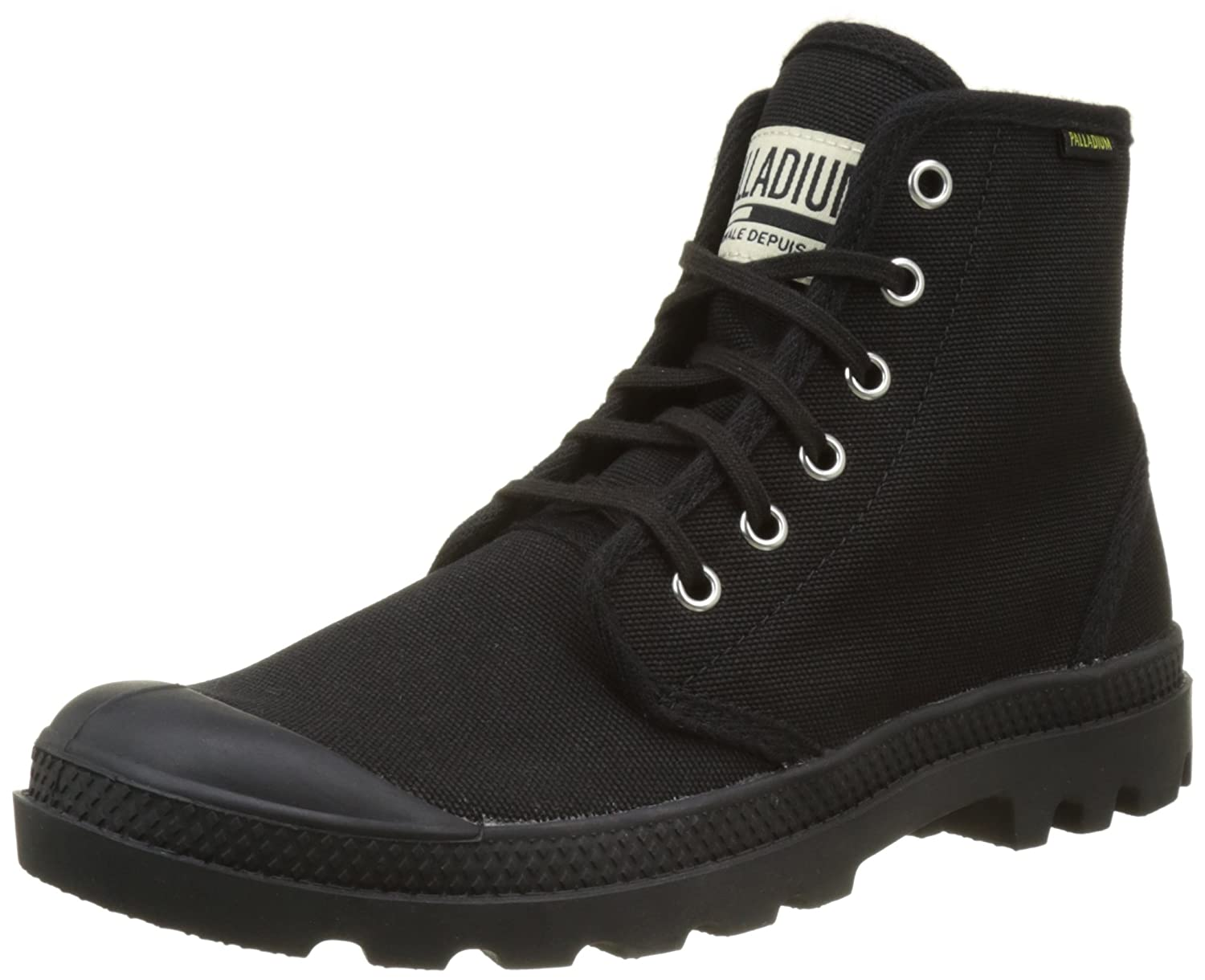 Black Black Palladium Men's Pampa Hi Originale Chukka