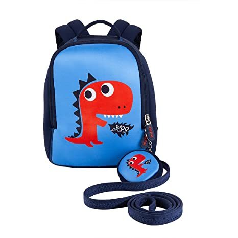 JiePai Toddler Kids Backpack with Safety Harness Leash 444c5ce2dc2da