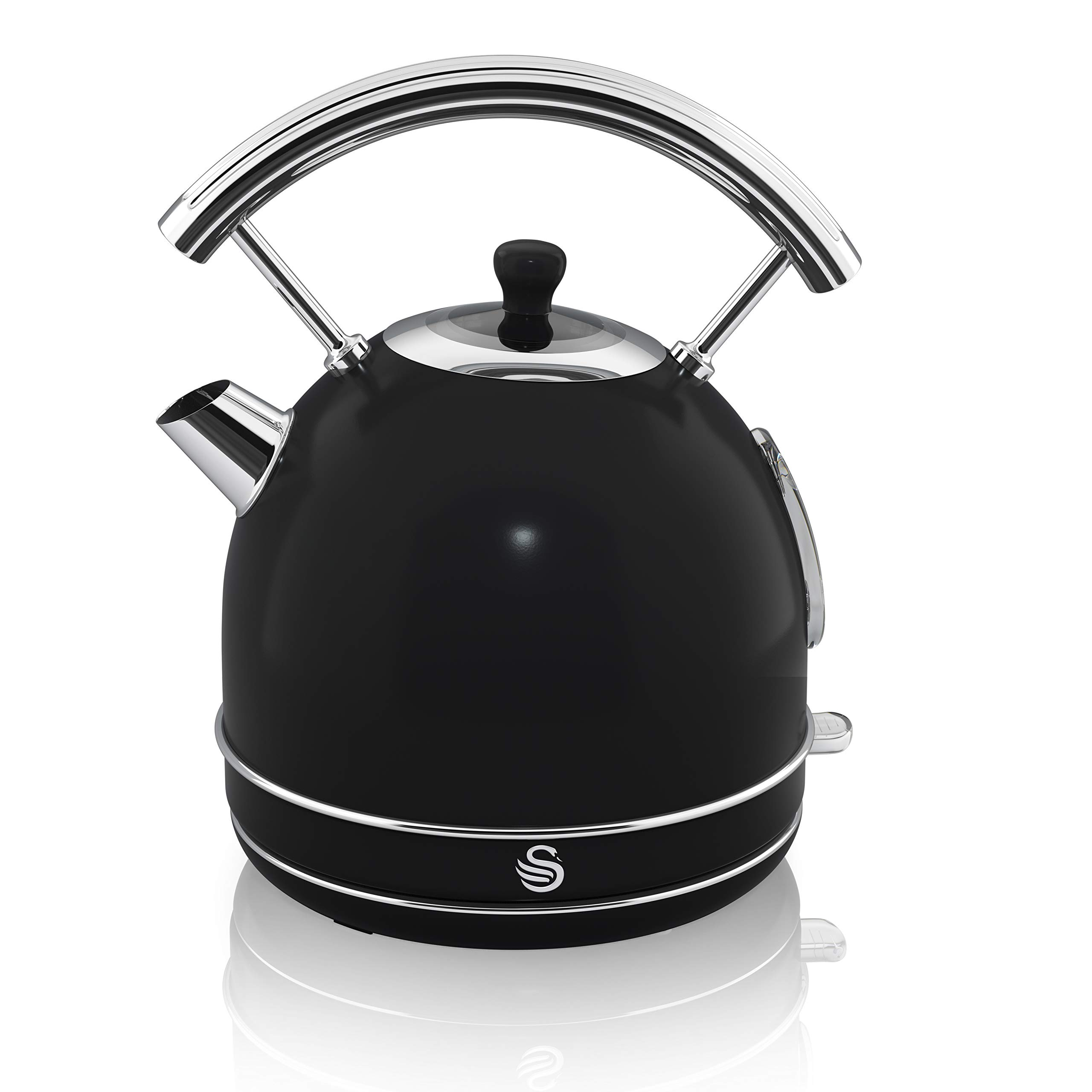 Swan SK34020BN Black Retro Dome Tea Kettle One Size