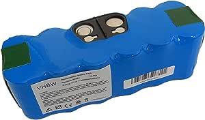vhbw Batería Ni-Mh 4500mAh (14.4V) compatible con iRobot Roomba 611, Roomba 612, Roomba 614, Roomba 618, Roomba 681 aspiradoras: Amazon.es: Hogar