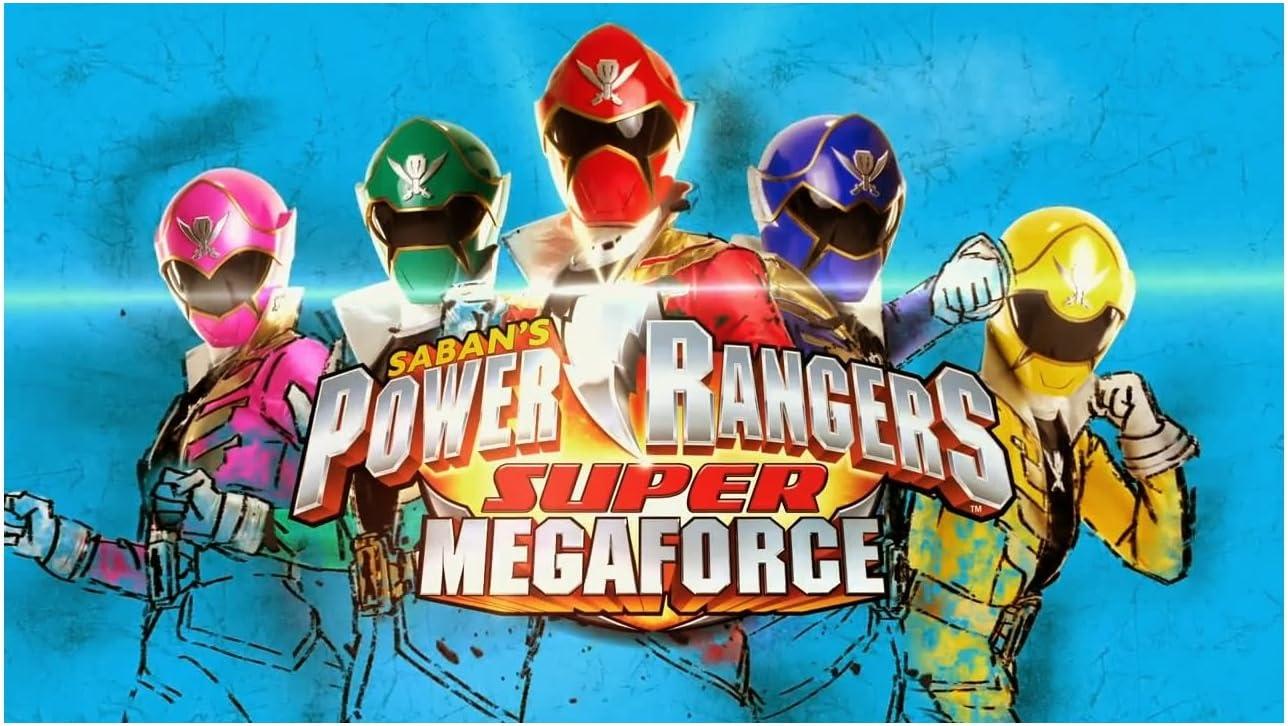 Fantastic Amazon Com Power Rangers Super Mega Force Image Photo Cake Topper Funny Birthday Cards Online Inifodamsfinfo