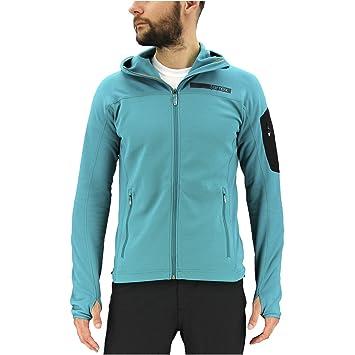 Adidas Outdoor Terrex Stockhorn del Hombres Chaqueta de Forro Polar, Hombre, Color EQT Green, tamaño Large: Amazon.es: Deportes y aire libre