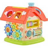Toyshine Learning and Fun House with Multi-Skill Activities (Multicolour)