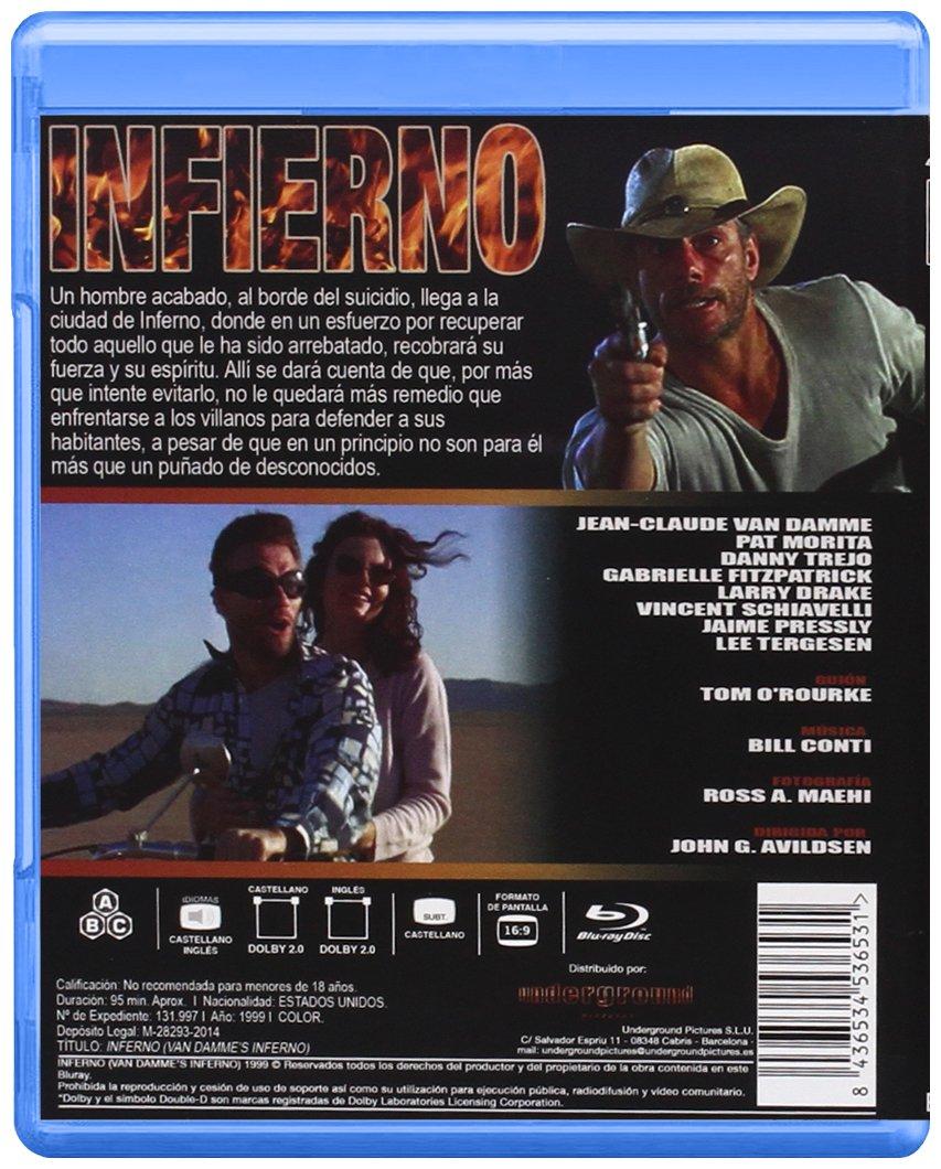 Infierno [Blu-ray]: Amazon.es: Jean-Claude Van Damme, Pat ...