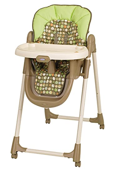 Bon Graco Mealtime Highchair, Lively Dots