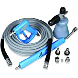 MTM Hydro Acqua Shine Auto Detailing Kit – Professional 316 AISI Stainless Steel Series - Includes PF22.2 Foam Cannon, SS Swi