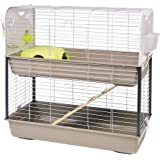 Lixit Animal Care Savic Caesar Rabbit and Guinea Pig 2-Tier Cage