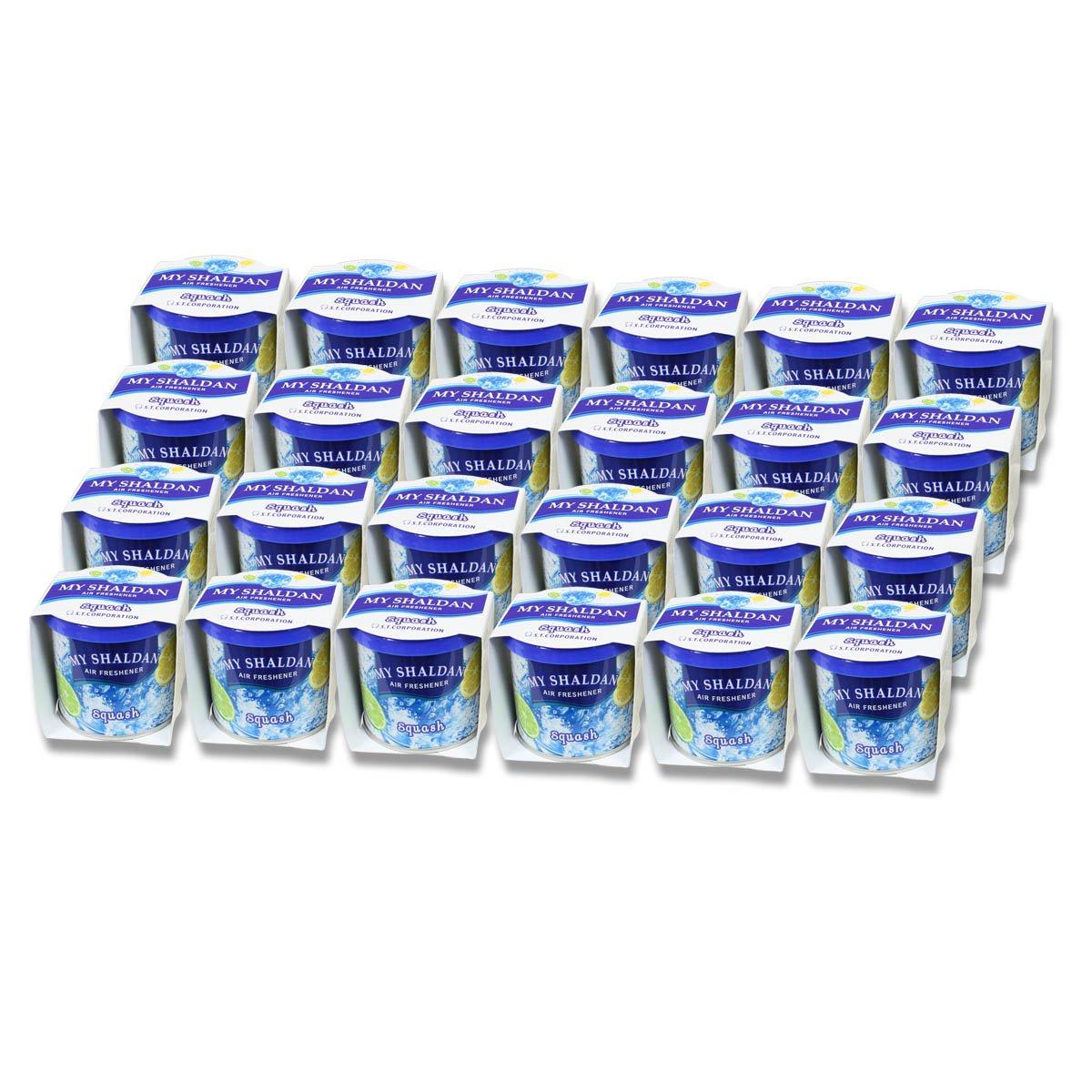 (Pack of 24) My Shaldan Japanese Car Natural Air Freshener Cans (Squash)