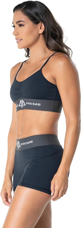 Alpha Prime Genesis Sports Bra Black