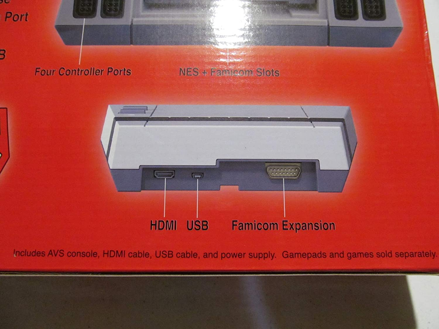 AVS Advanced Video System Console, play NES Nintendo Entertainment System cartridges in HD via HDMI: Video Games