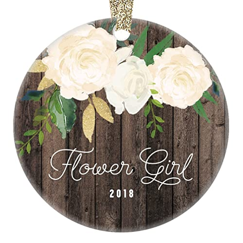 Amazon Flower Girl Christmas Ornament 2018 Will You Be My