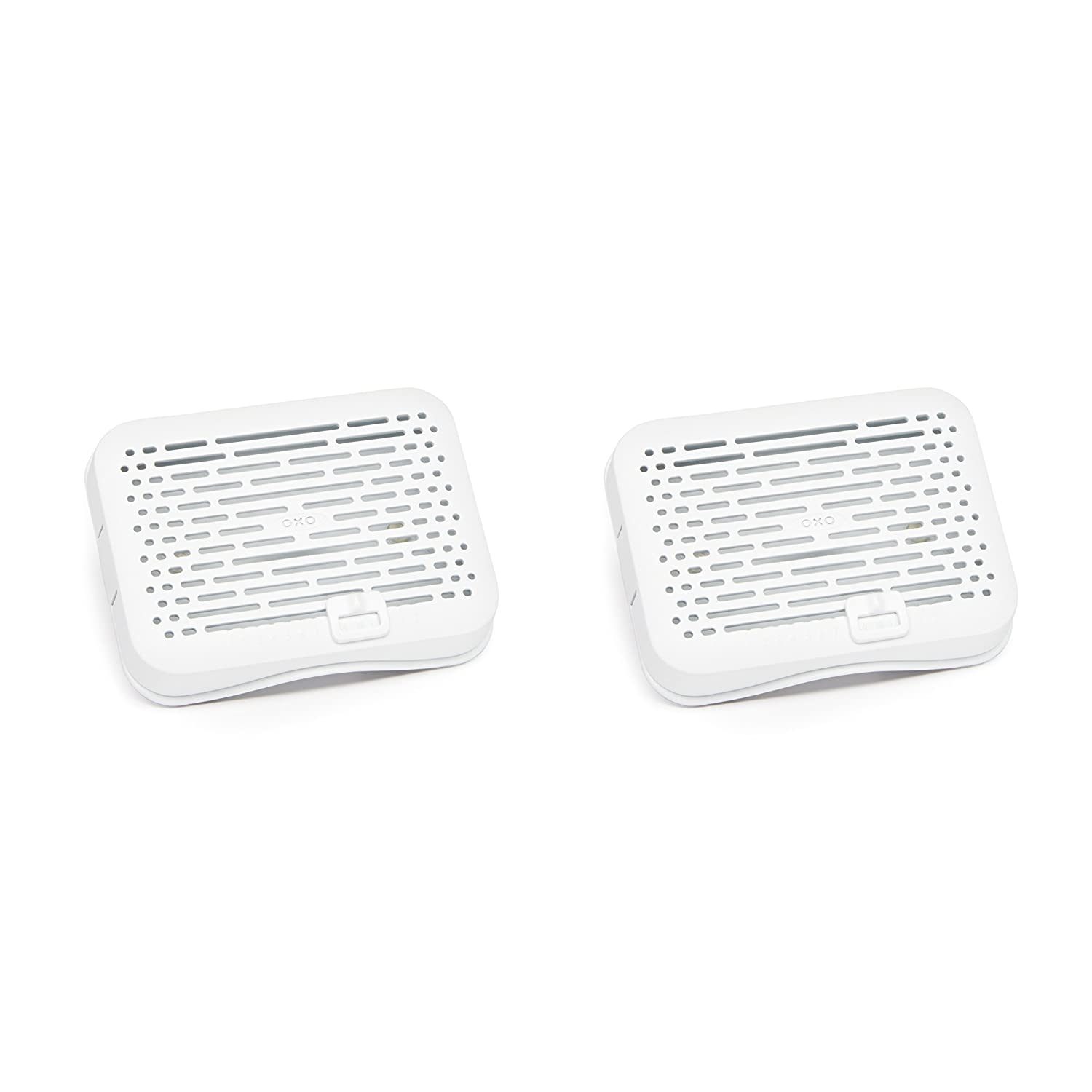 OXO Good Grips GreenSaver Mounted Crisper Drawer Insert with Suction Cups (2 Pack)