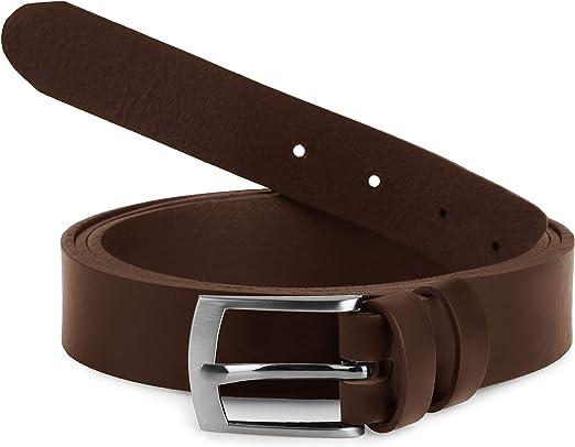 Man's Leather Belt Extra Long 180 cm L11