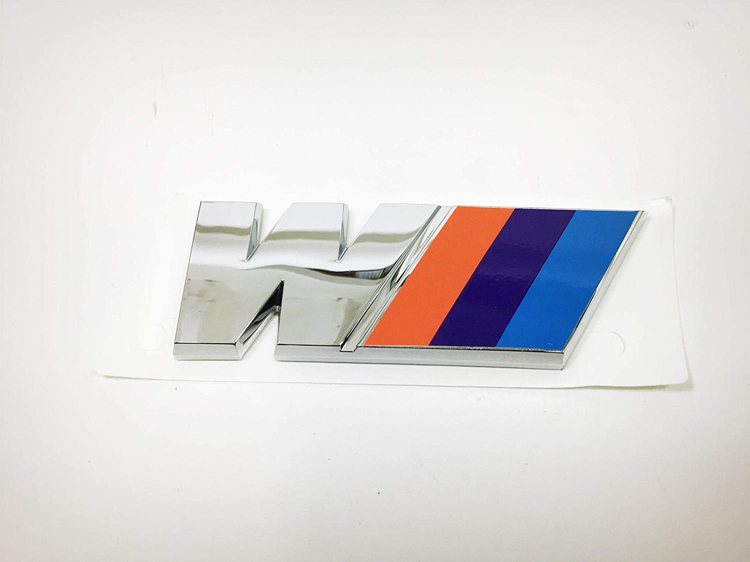 NEW M power Car Emblem Sport Side Wing Chrome Badge Logo Sticker For BMW