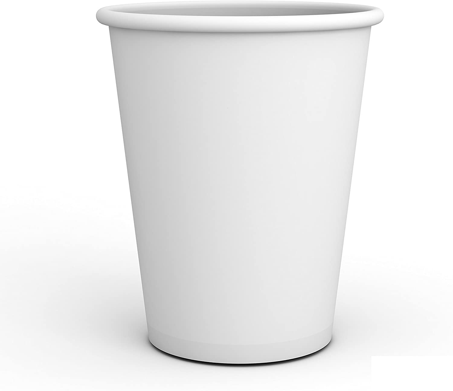 2 Pack of 500 ct - White Hot Drink Paper Cups 10 oz by EcoQuality - Disposable Coffee Cups, Recyclable, Compostable, Great for Office, Breakrooms, Restaurants, Coffee Shops, Tea Shops, Latte, Chai