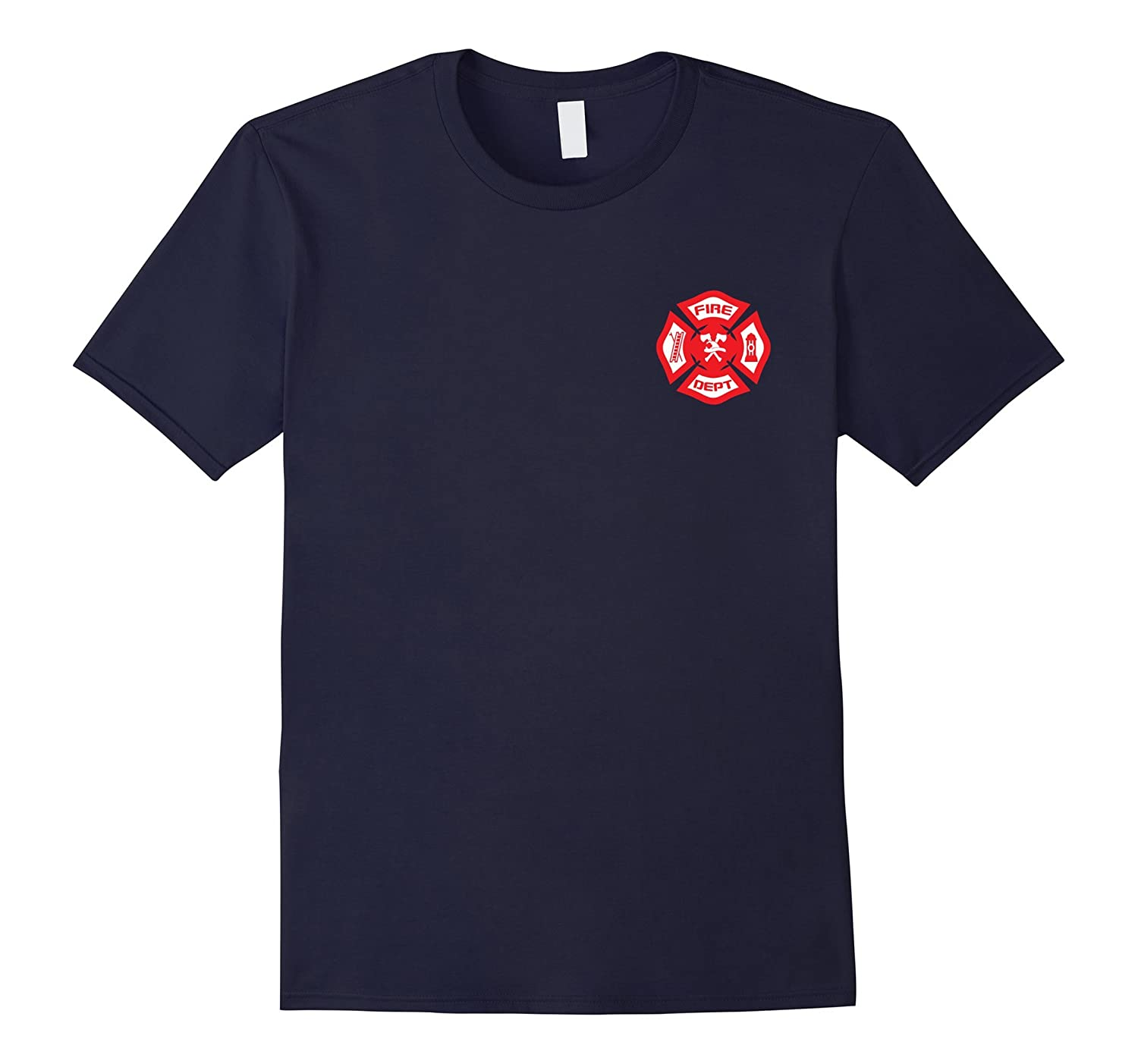 Fire Department Uniform T-Shirt - Official Firefighter Gear-FL