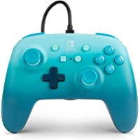 PowerA PowerA Enhanced Wired Controller para Nintendo Switch - Aquatic Fantasy, azul, gamepad, controlador de…