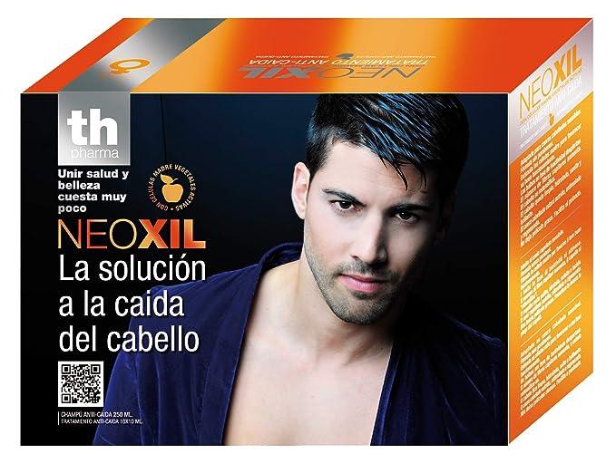 TH NEOXIL HOMBRE LOTE CAIDA CHAMPU 250+AMPOLLAS 10X10 ML: Amazon.es: Belleza