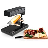 Klarstein Appenzell Peak Raclette con Grill • Para Queso • Altura regulable, giratorio y reclinable