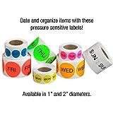 Tape Logic DL6502 Pre-Printed Days of the Week