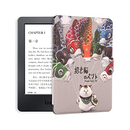 Goaeos Carcasa de silicona para Kindle E-reader Slim Cover Ebook ...