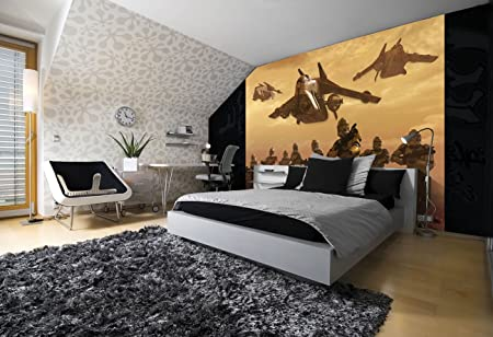 Wall mural wallpaper Star Wars in giant size 368x254cm Amazonco
