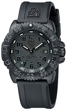 amazon com luminox evo navy seal blackout mens watch 3051 luminox evo navy seal blackout mens watch 3051 blackout