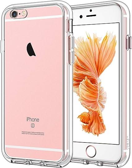 JETech Funda para iPhone 6s y iPhone 6, Carcasa Anti-Choques y Anti-Arañazos, Transparente: Amazon.es: Electrónica