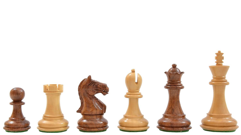 お気にいる Chessbazaar King Fierce Knight Staunton Wooden - Chess Pieces in & Sheesham & Box Wood - 3.4