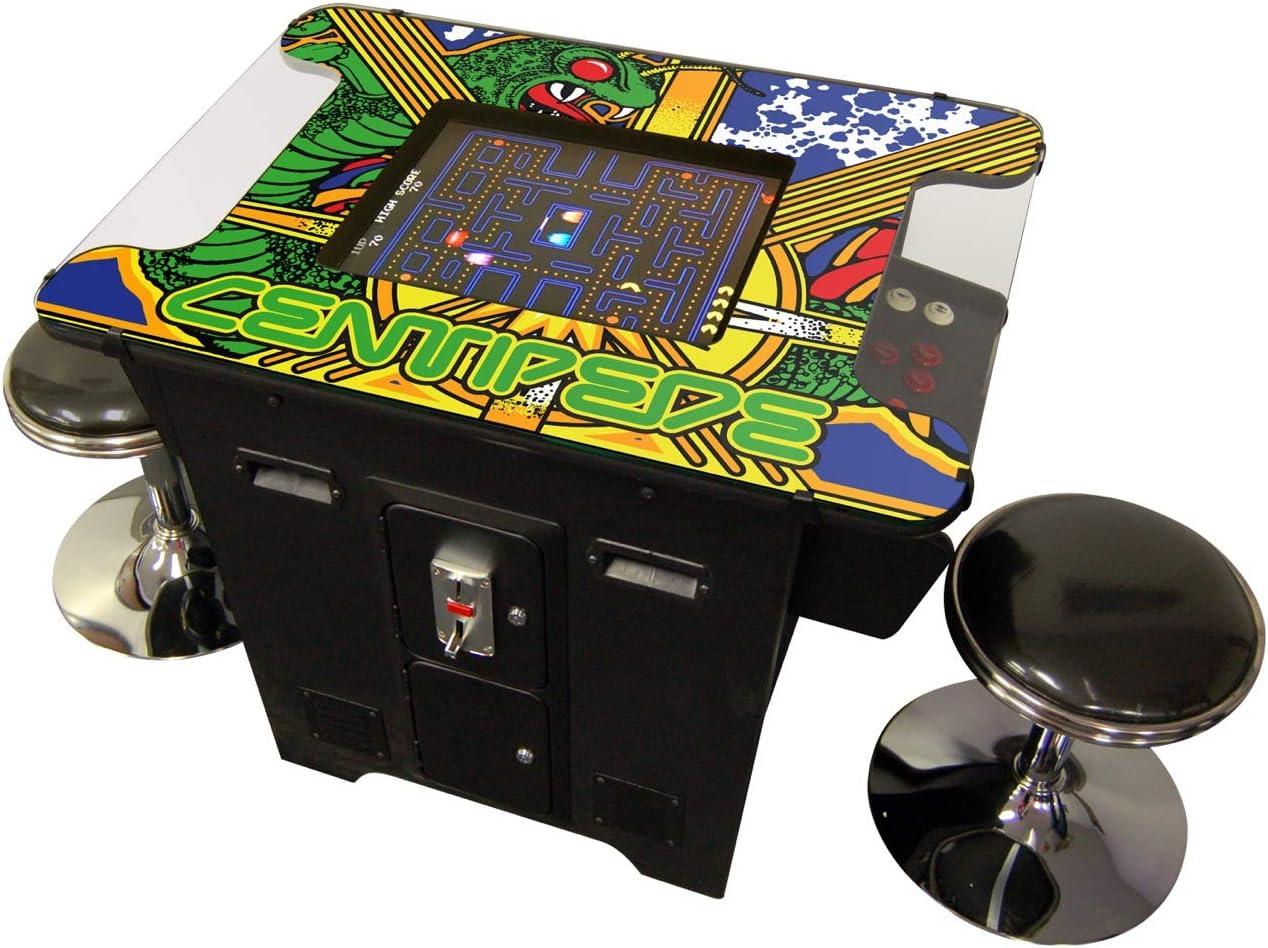 Prime Arcades, LLC 60 Games in 1 Cocktai Arcade Machine Includes 2 Stools 5 Year Warranty