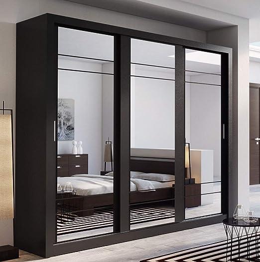 Arthauss Marca nilight Dormitorio Espejo Puerta corredera Armario ...