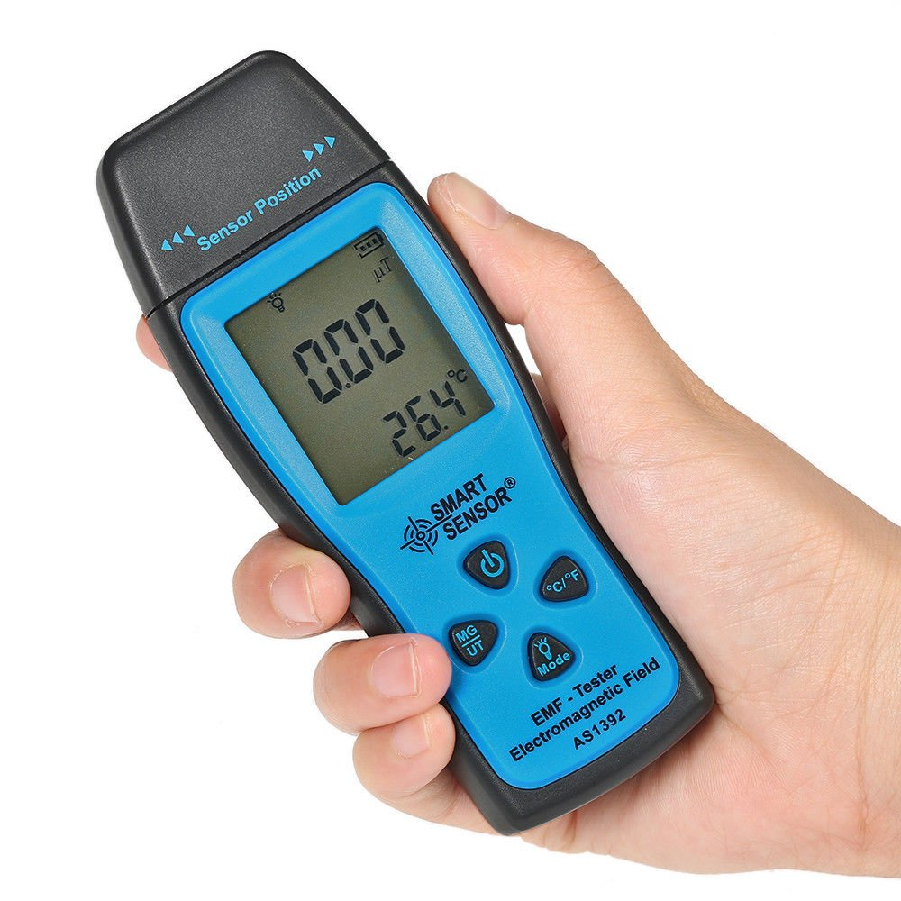Radiation detector meter Handheld EMF Digital LCD - Electromagnetic Field Radiation- Novhill
