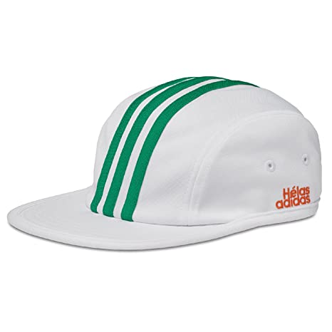 sports shoes b0594 d592b Amazon.com: Adidas Helas (White) 4 Panel Hat: Sports & Outdoors
