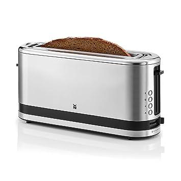 WMF Küchenminis Tostadora, 900 W, Cromargan Acero Inoxidable 18/10, Plateado