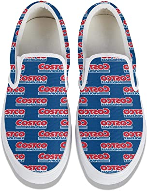 Canvas Shoes Costco-Wholesale-red-Blue