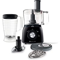 Philips Viva Collection hr7631/90–Food Processor (1.3L, Black, 1.12m, Brazil, Stainless Steel, 600W)