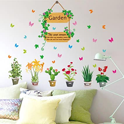 Amazon.com: Home Decor - Adhesivo decorativo para pared ...