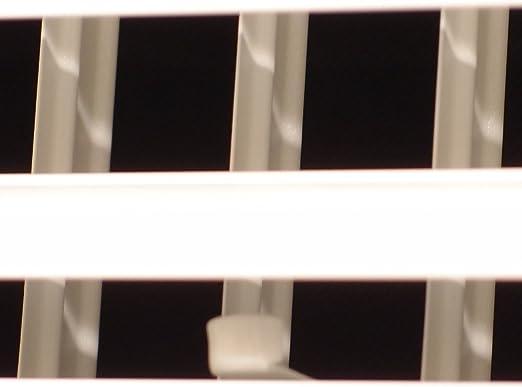 Dimensions ext/érieures 140 mm Grille da/ération en aluminium avec moustiquaire ronde en m/étal