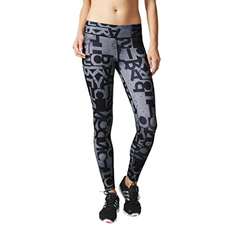 Women's Ultimate Fit Typo Long Tights