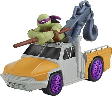 Teenage Mutant Ninja Turtles T-Machines Donatello in Service Truck Diecast Vehicle