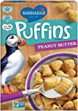 Barbara's Bakery Puffins Cereal, Peanut Butter, 11 Ounce
