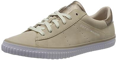 Sidney, Sneakers Basses Femme, Gris (Pastel Grey 050), 38 EUEsprit