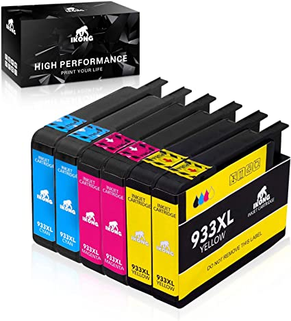 IKONG Compatible HP 933XL HP 933 XL Cartuchos de Tinta, Alto ...