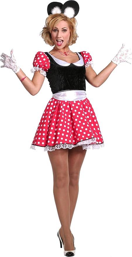 Party Discount Mujer Disfraz de Minnie: Amazon.es: Juguetes y juegos