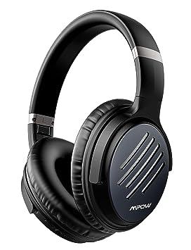Mpow H16 Auriculares Bluetooth Inalámbricos(Carga Rápida, 30 Hrs de Reproducir, Hi-Fi Sonido, CVC 6.0), Cascos Diadema con Cancelación Activa de ...
